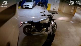 Najgłośniejszy motocykl 125, który rozbawił do łez – 30 minut na Junak M11 125 Cafe #71 Szybcy i Wolni Vlog