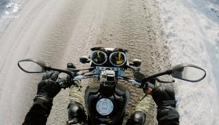 Jazda motocyklem zimą: Jak to jest z tym końcem sezonu