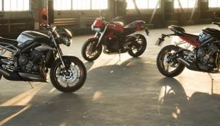Triumph ogłasza nową generację motocykli Street Triple 2017