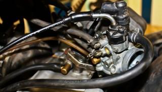 Skuter i technika: Gaźnik