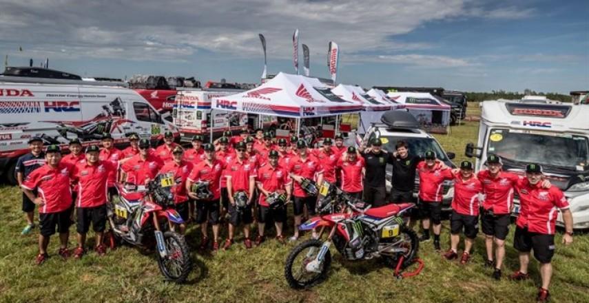 Rajd Dakar 2017: Motocykliści Monster Energy Honda Team gotowi na wyzwania