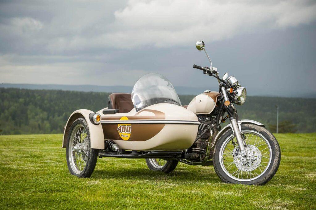 Romet Classic 400 Z Koszem Prezentacja Nowego Motocykla Z Koszem