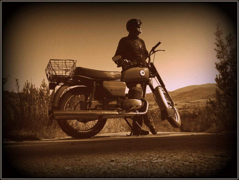 Motocykl WSK 125