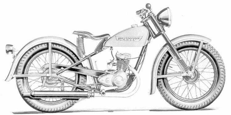 Harley-Davidson 2t