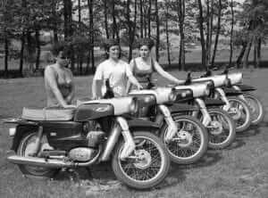 Motocykle SHL Gazela