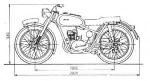 Motocykl WFM,