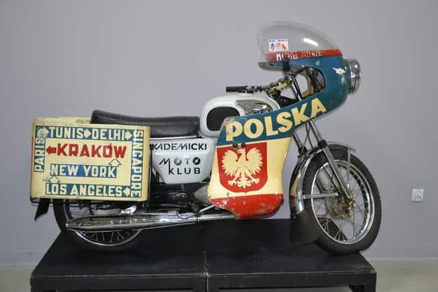 Marek Michel. Wyprawa dookoła świata na motocyklu WSK
