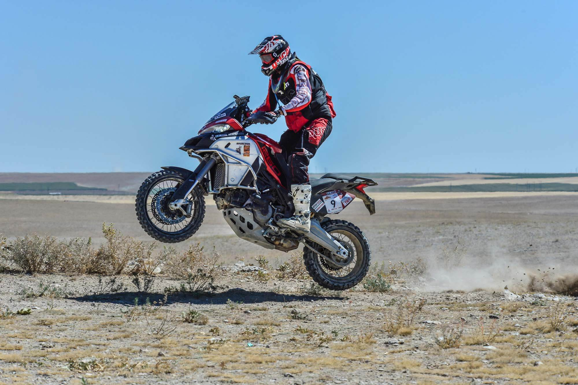 Ducati Multistrada 1260 Rnduro rajd rally adventure
