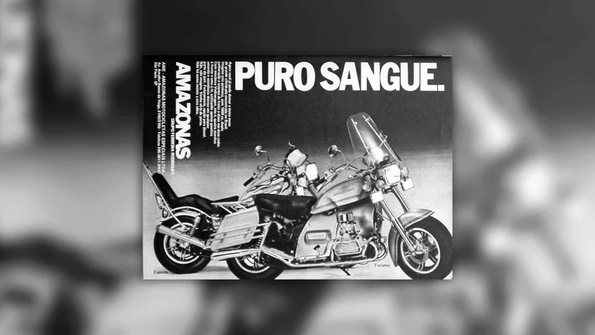 Amazonas 1600 motocykl z silnikiem VW Garbusa