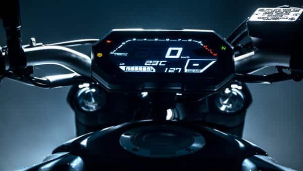Yamaha MT-07 2021 wyświetlacz
