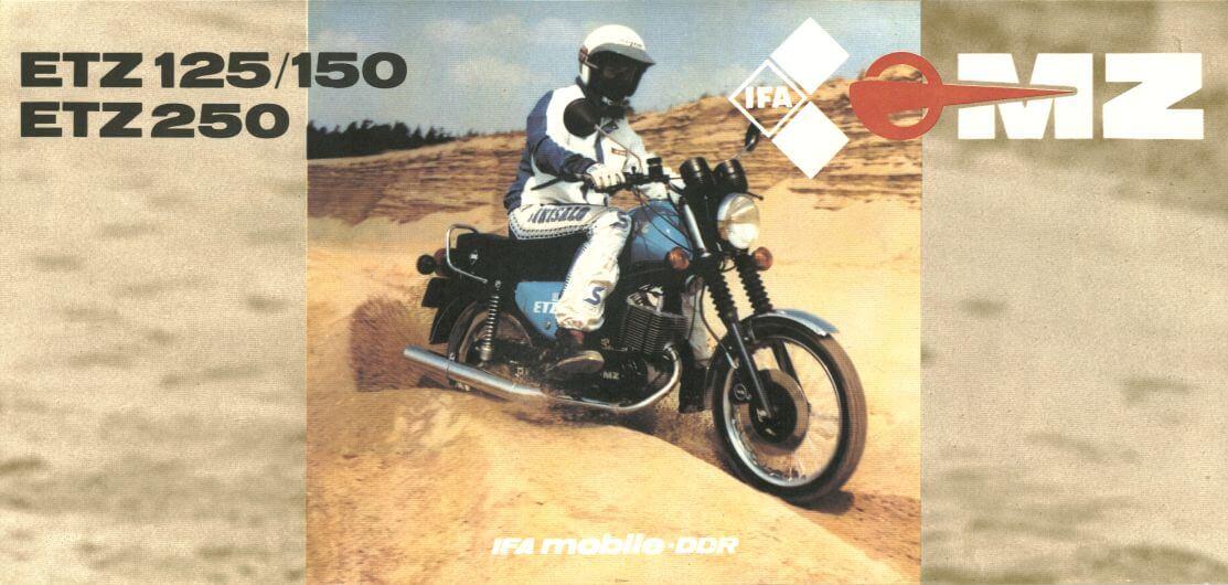 MZ ETZ 250. Motocykle zabytkowe, klasyczne