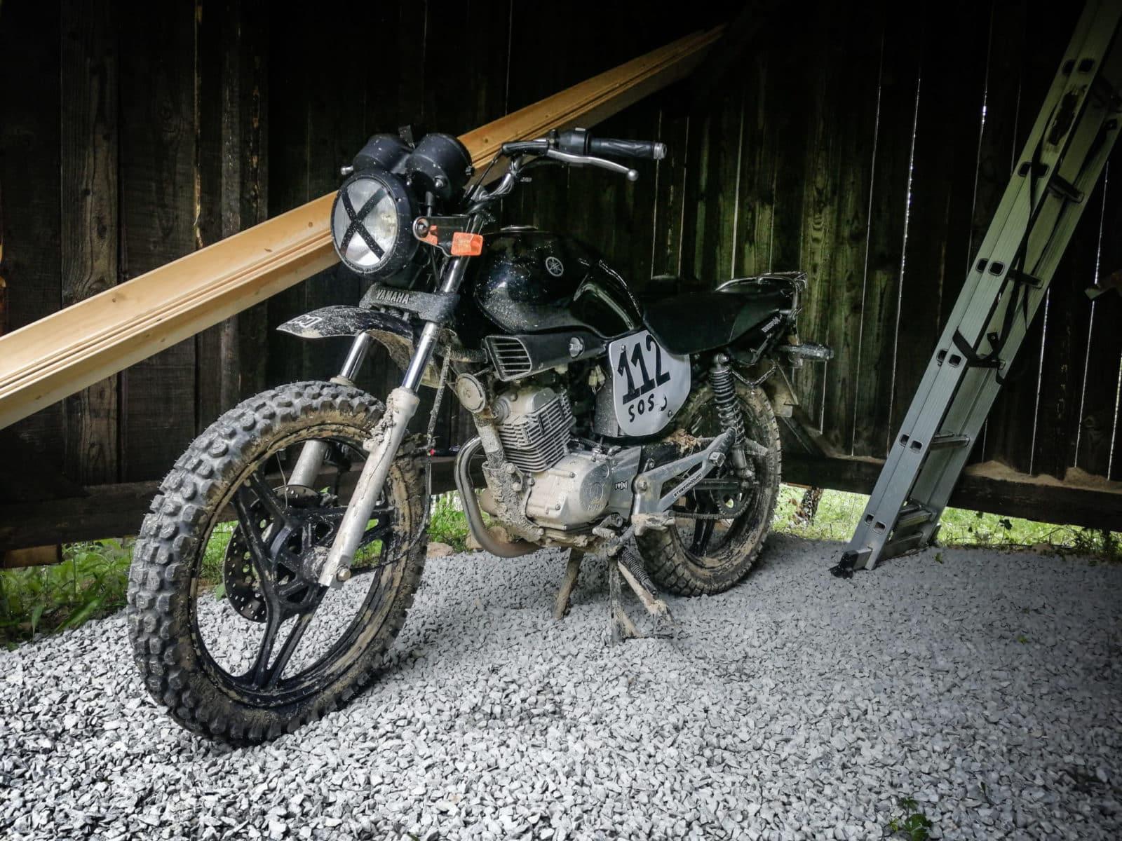 Przerabiamy motocykl 125 w teren