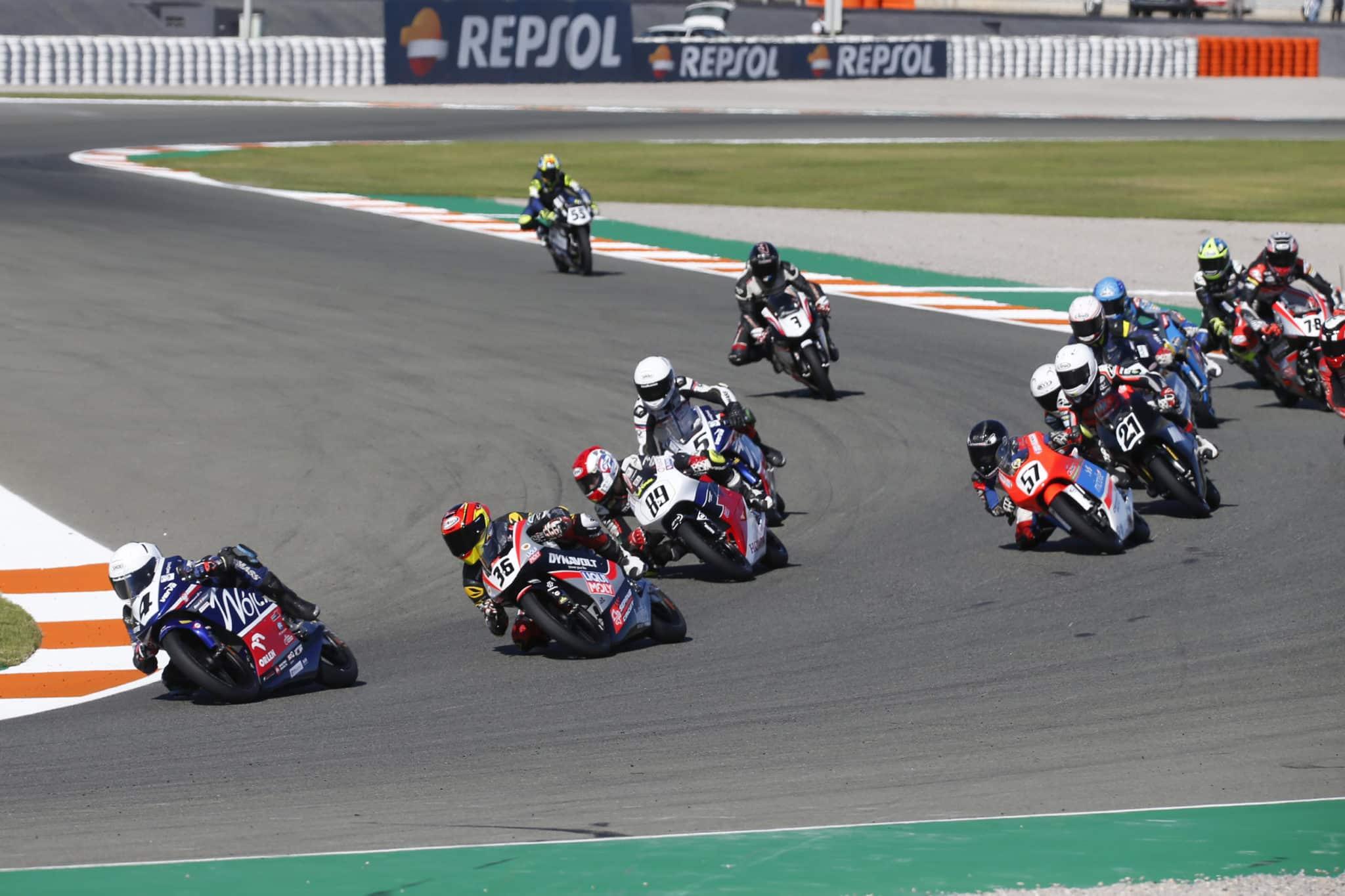Pawelec, Walencja, Wójcik Racing Team, wyścigi motocyklowe