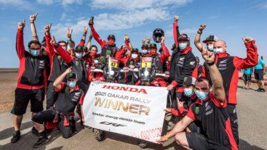 Kevin Benavides Honda Dakar 2021