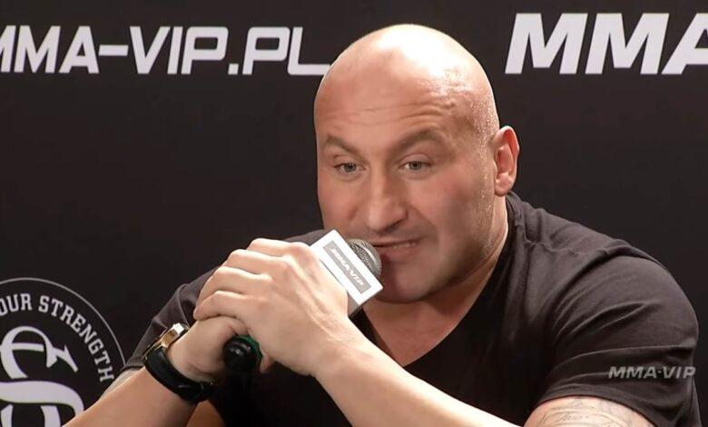 Marcin Najman. Żużlowcy na gali VIP-MMA