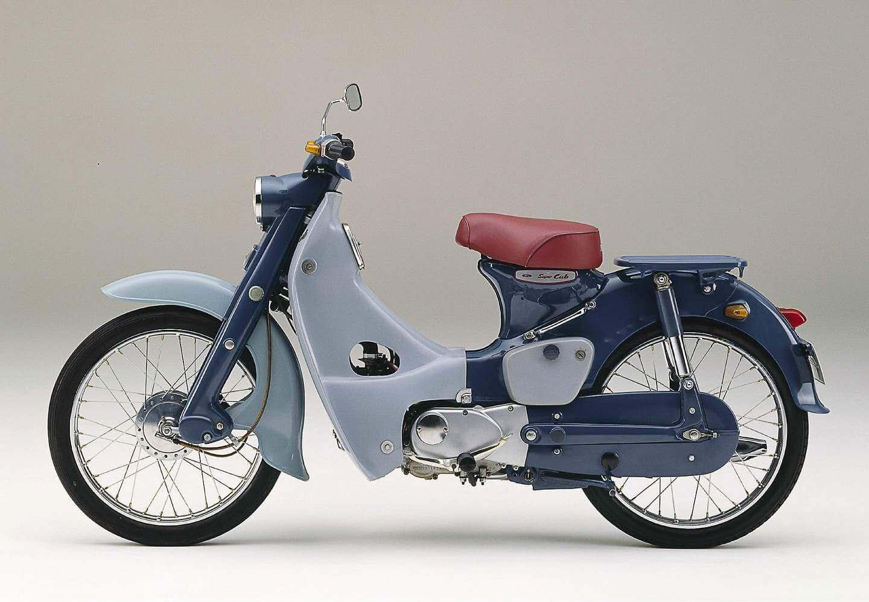 Honda Super Cub. Historia