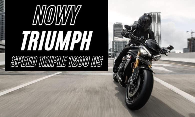 Nowy Speed Triple 1200 RS 2021