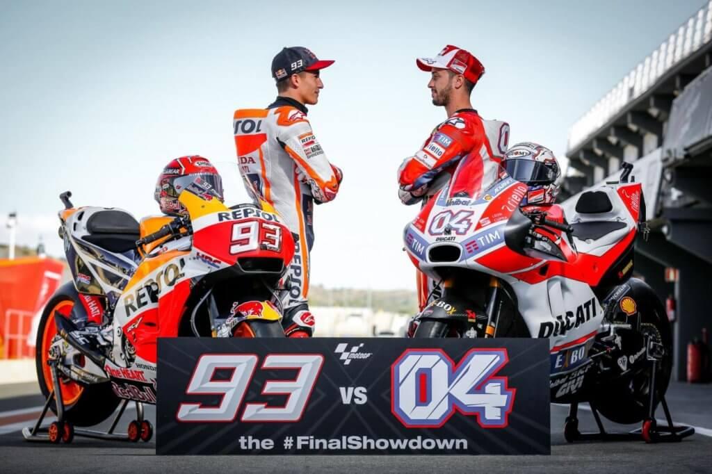 MotoGP Marquez Dovizioso