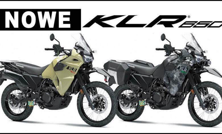 Kawasaki KLR 650 2022