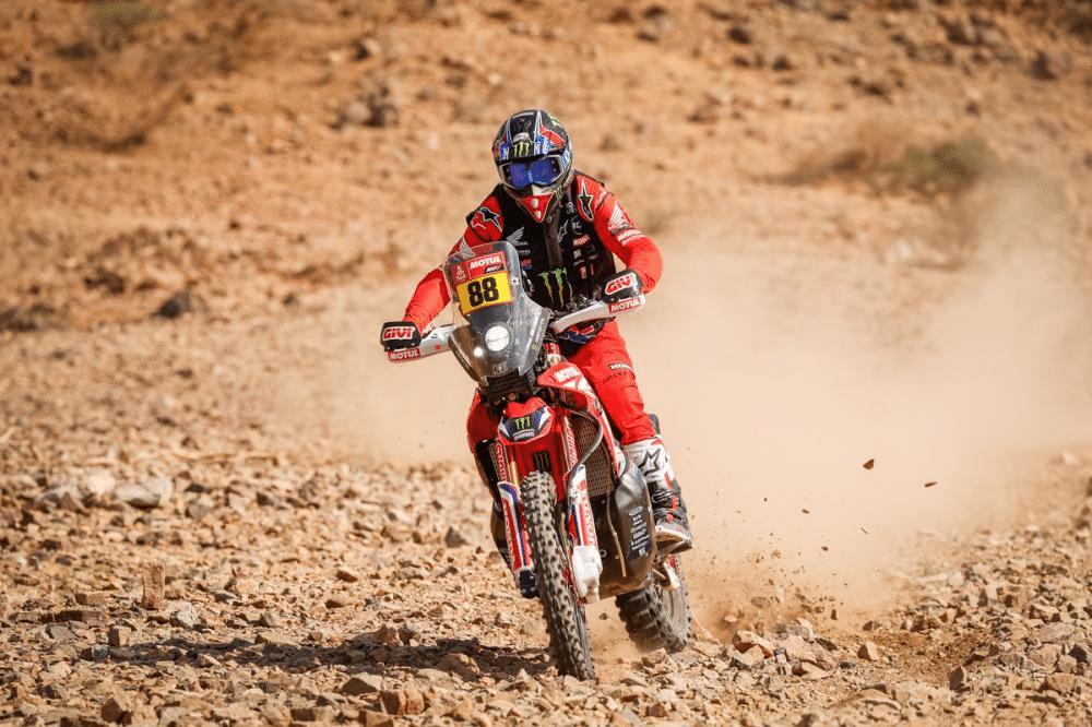 Joan Barreda Bort, Dakar 2021, etap 3