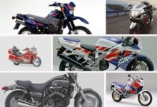 Motocykle lat 90-tych Top7