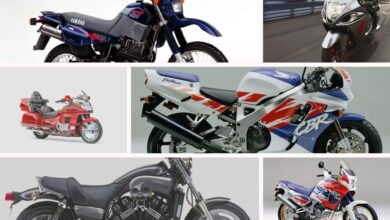 Motocykle lat 90-tych Top7