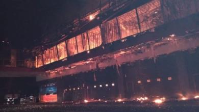 MotoGP tor argentyna pożar