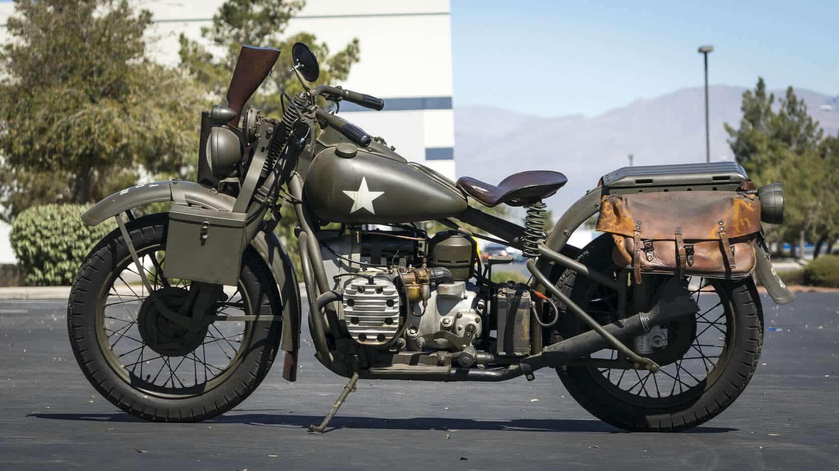 Harley-Davidson XA. Amerykański bokser