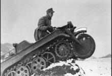 NSU Kettenkrad. Motocykl z gąsienicami