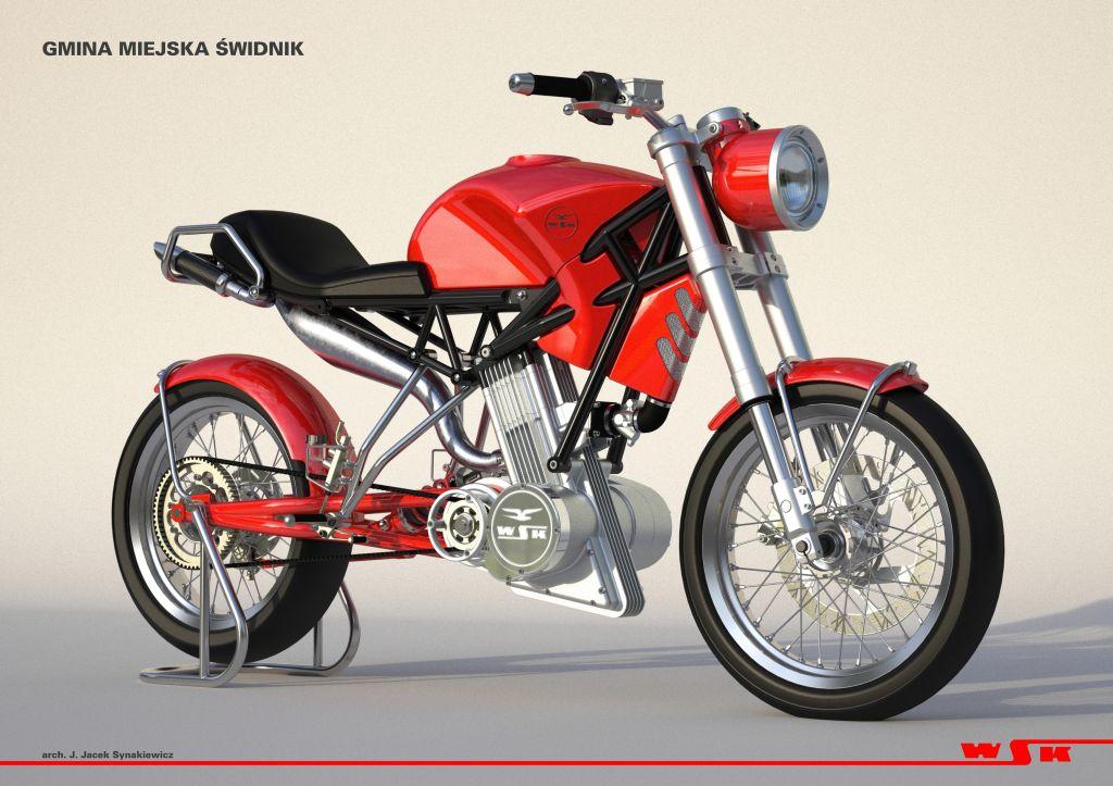 Reaktywacja motocykla WSK