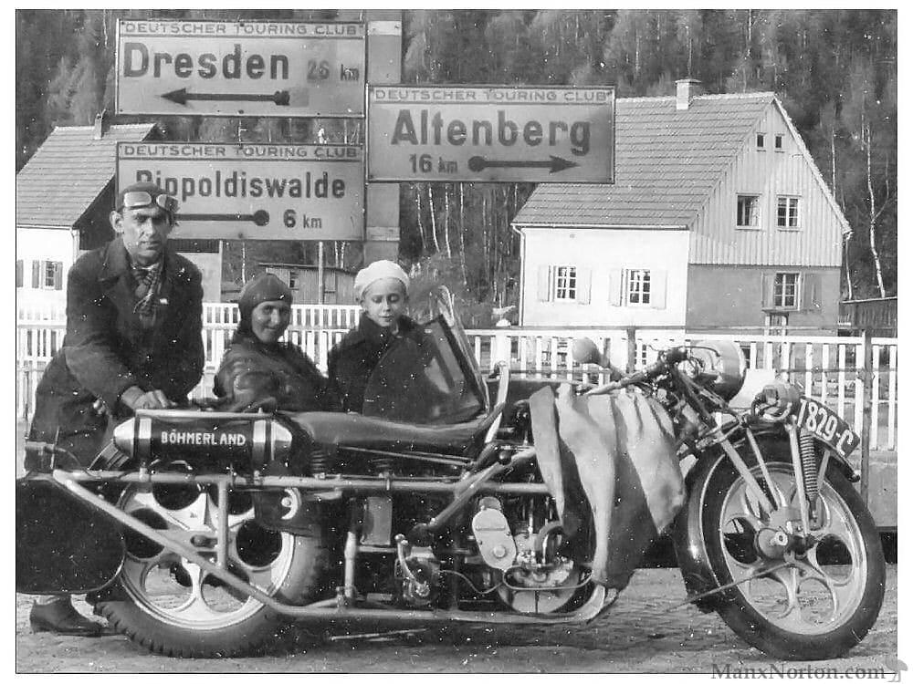 Bohmerland-1927. Najdłuższy motocykl świata