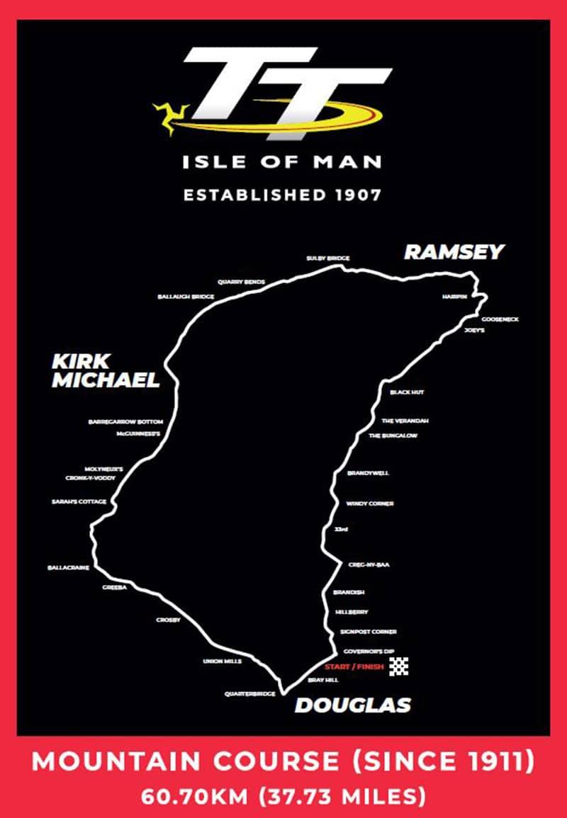Trasa wyścigu TT na Wyspie MAn