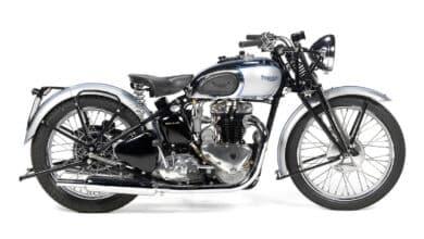 Triumph Tiger 100. Historia motocykli