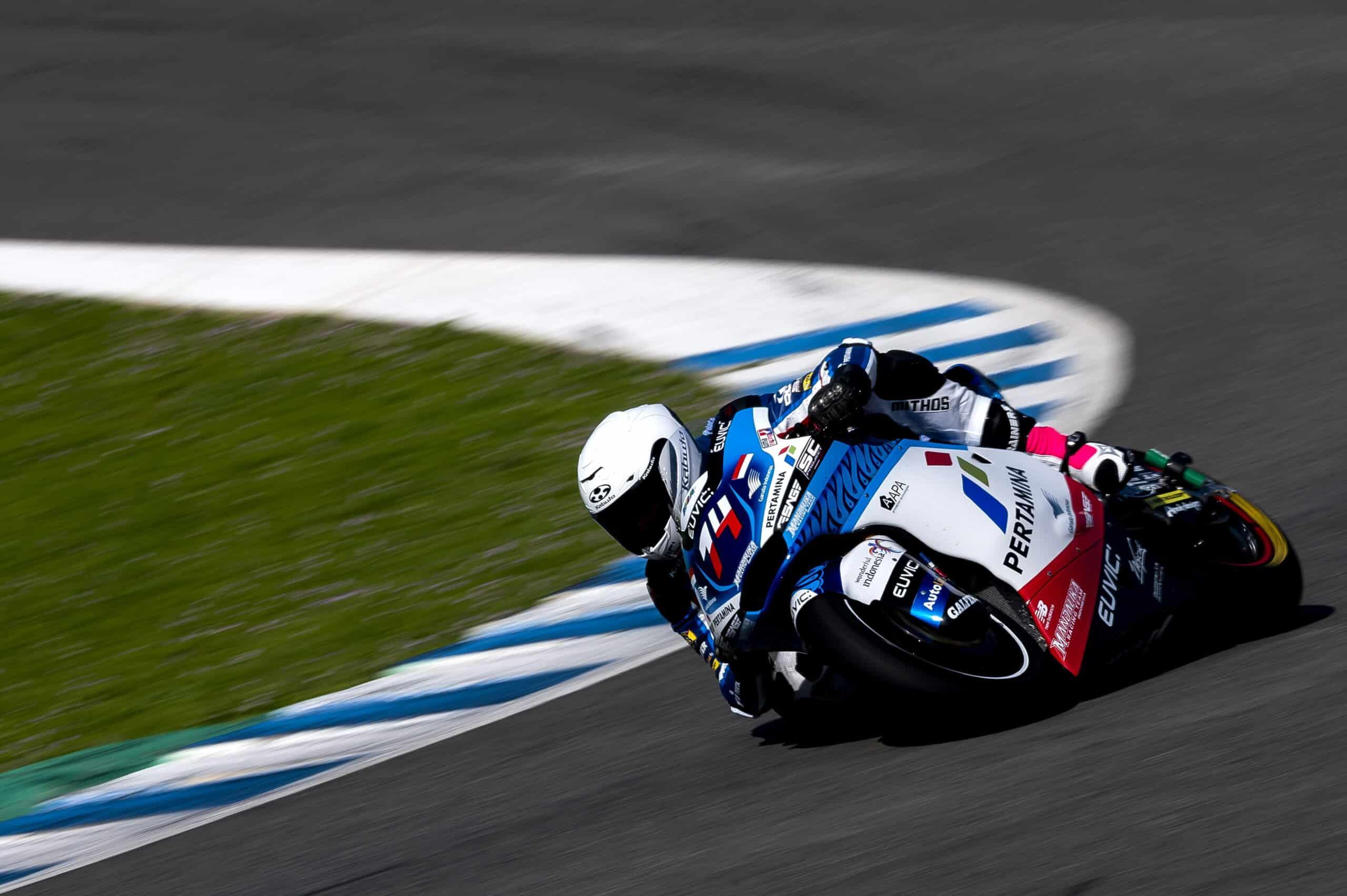 Piotr Biesiekirski Mistrzostwa Europy Moto2