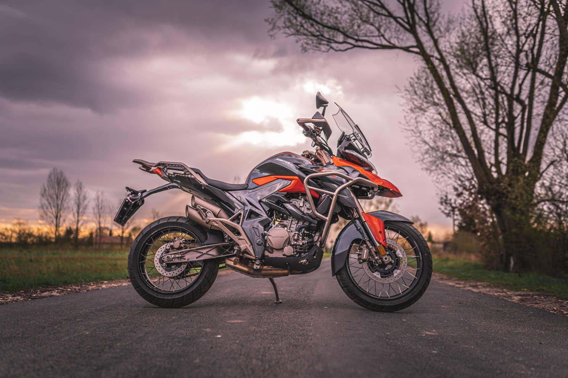 Zontes 310T. 2021. Motocykl turystyczny