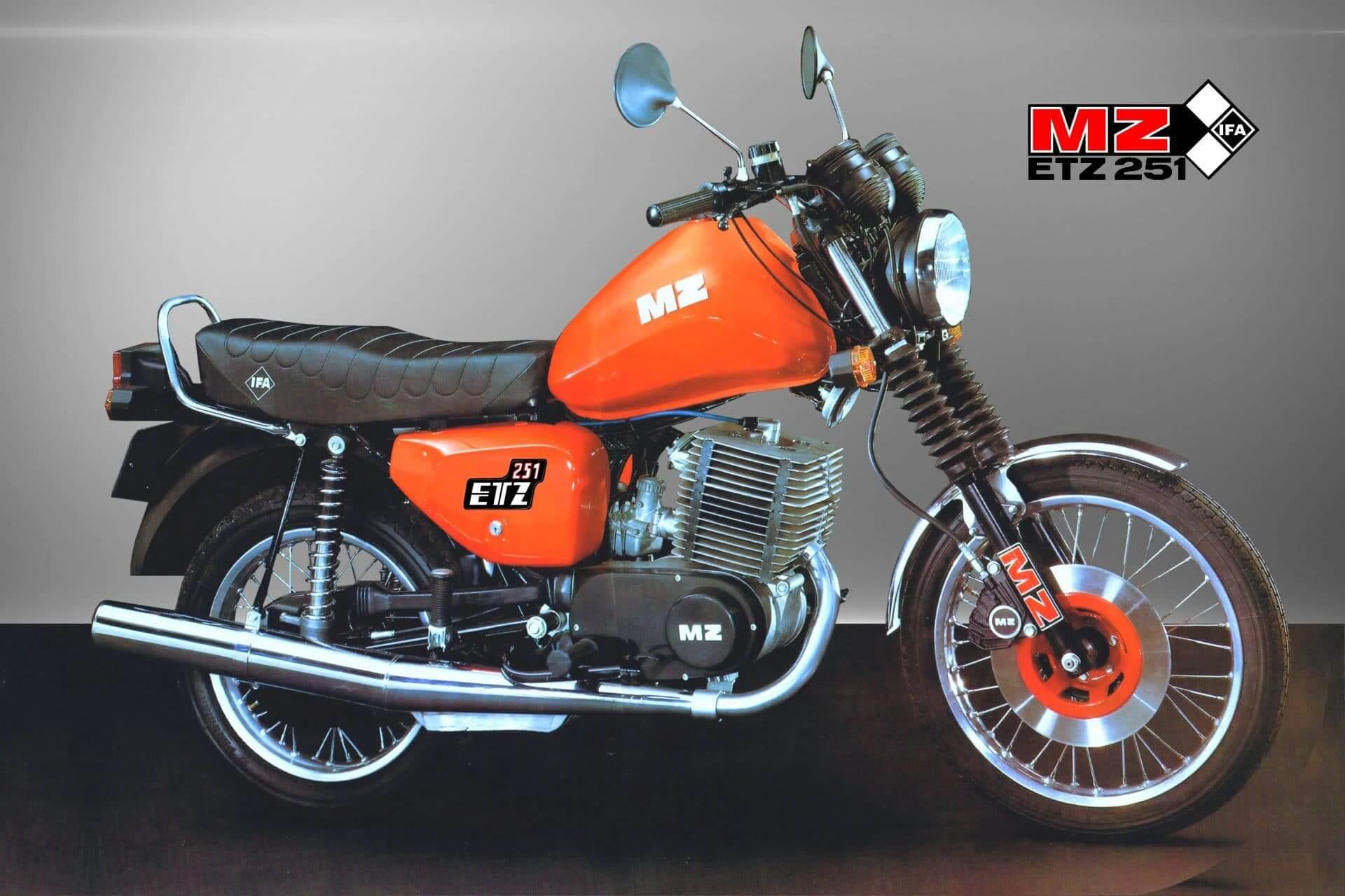 O tym motocyklu marzył każdy. Historia motocykla MZ ETZ