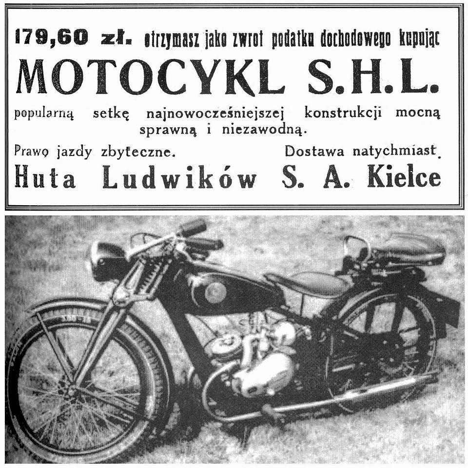 Motocykl SHL 98