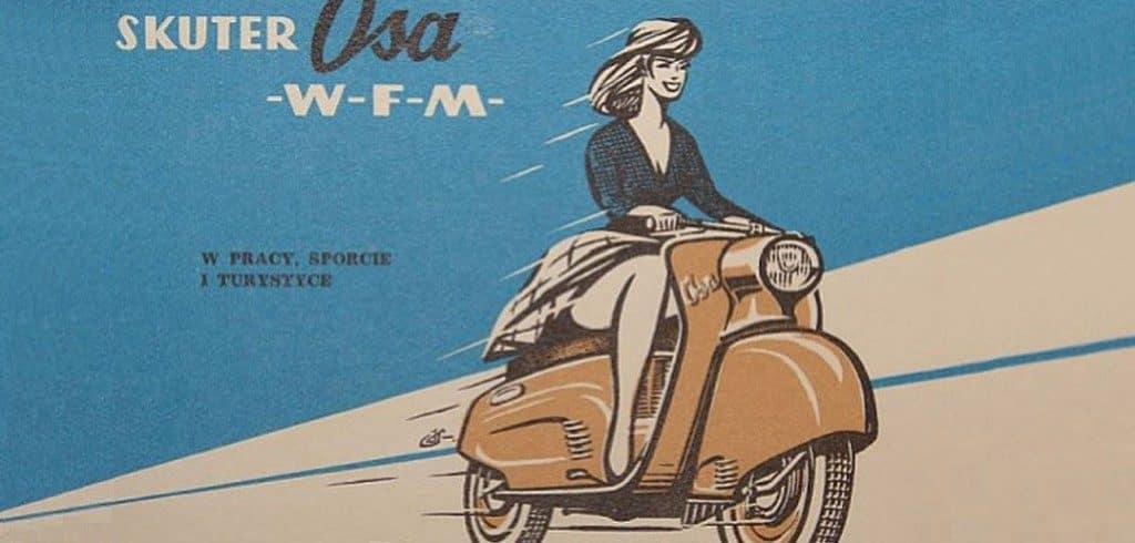 polski skuter WFM OSA