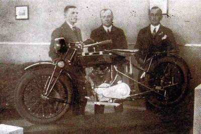Pierwszy polski motocykl: Lech