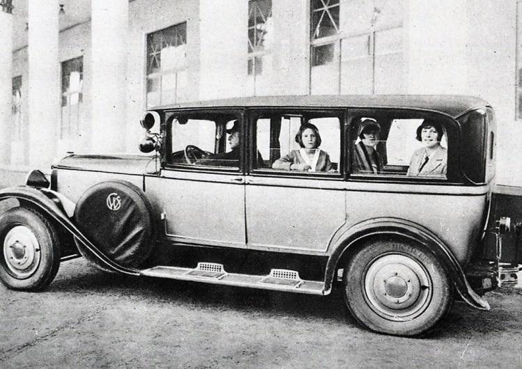 Pierwszy polski samochód SCW T1