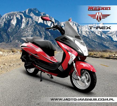 moto magnus t rex 50 segment si rozrasta jedno motocykle skutery motorowery. Black Bedroom Furniture Sets. Home Design Ideas